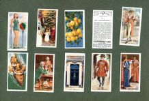collctable  cigarette cards set Do You Know Questions & Answers, knowledge set